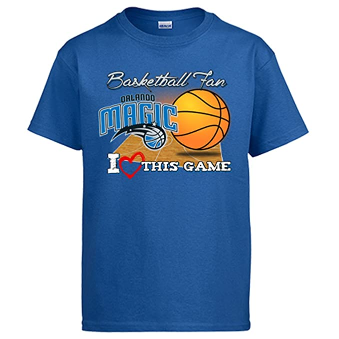 Camiseta NBA Orlando Magic Baloncesto Basketball fan I Love This Game: Amazon.es: Ropa y accesorios