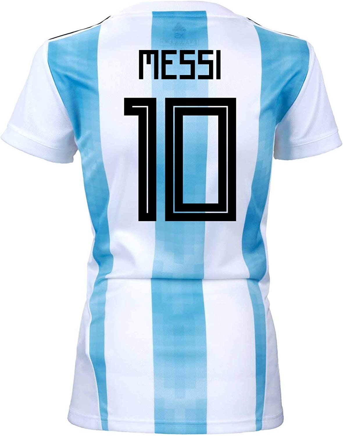 adidas Messi #10 Argentina Home Women's Soccer Jersey World Cup Russia 2018