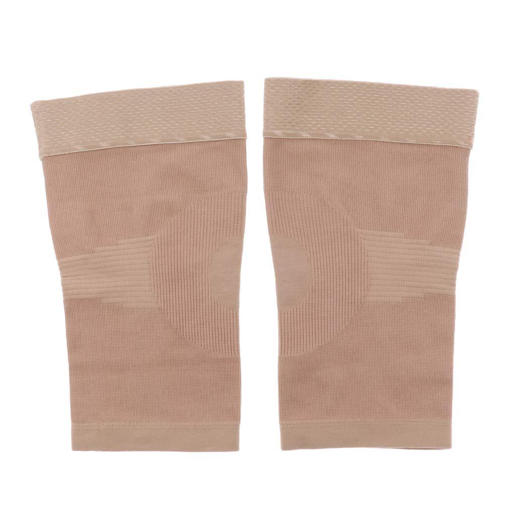 Sharplace 1 Paire Chaussettes de Compression Soutien Genou Manchon Mollet Genou Bas Femmes Hommes