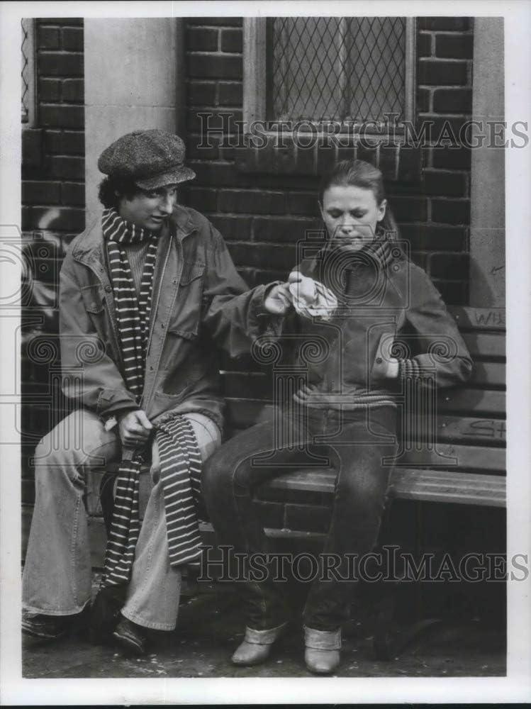 1978 Press Photo Ron Palillo y Melonie Haller actúan en ...