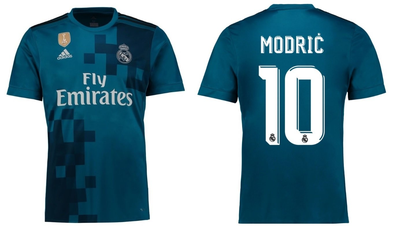 Trikot Kinder Real Madrid 2017-2018 Third WC - Modric 10