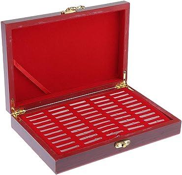 Hellery Cajas de Protección de Monedas Conmemorativas Estuche de Colección de Monedas Caja de Almacenamiento de Monedas: Amazon.es: Juguetes y juegos