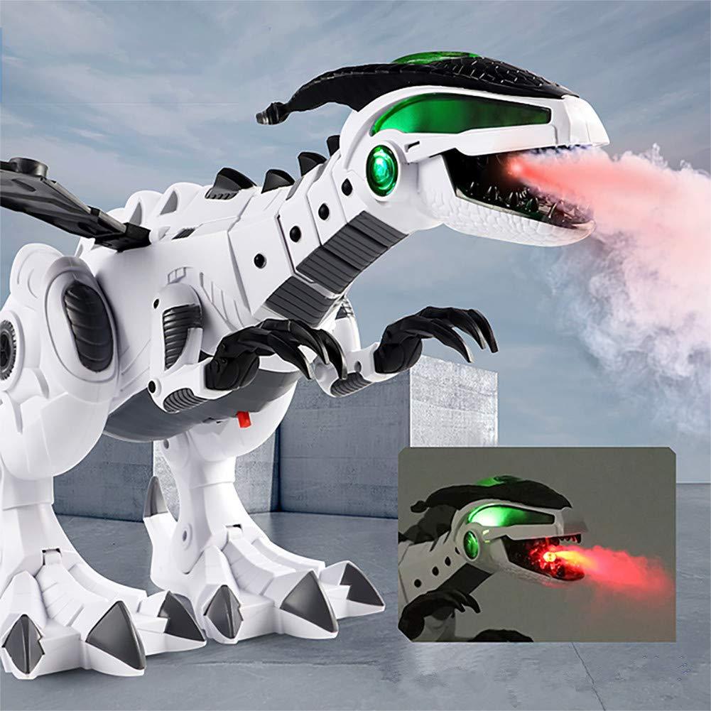 Ocamo Dinosaurio en Forma de Juguete Spray Dinosaurio mecánico mecánico Pterosaurio Dinosaurio Juguete Regalo de los niños Blanco: Amazon.es: Juguetes y ...