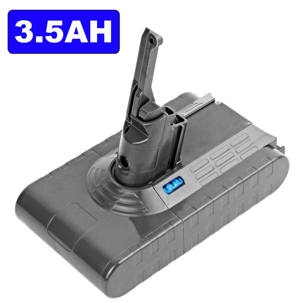 3500mAh 21.6V Lithium Replacement Battery for Dyson V8 Absolute Animal Exclusive Cordless Vacuum Cleaner (made with 6 Sony Battery Li-ion Cells)