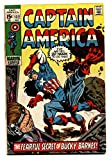 Captain America #132 comic book 1970- Modok- Bucky Barnes- Marvel