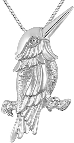 925 Sterling Silver Cockatoo Charm Made in USA