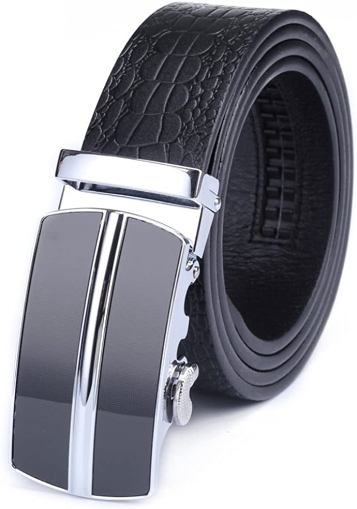 Mens Simple Fashion Belts Youth Business Belt