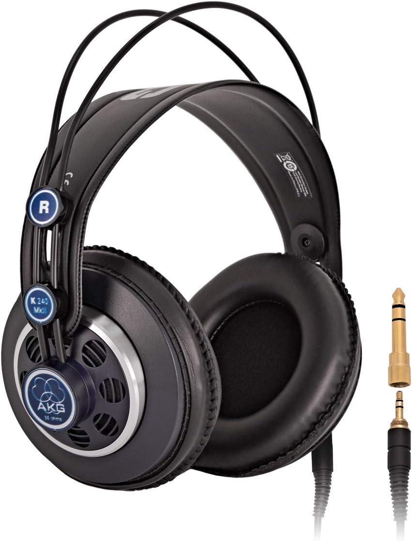 akg k 240 mk ii auriculares de diadema semiabiertos