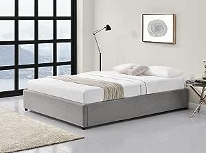 usinestreet conjunto marco de cama con baúl + colchón + ...