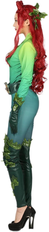 Nexthops Poison Ivy Disfraces para Mujeres Verde Traje Completo 5 ...