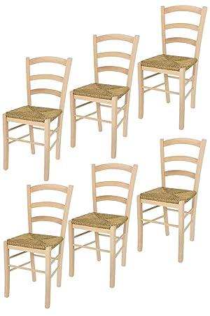 Tommychairs sillas de Design - Set 6 sillas clásicas PAESANA 32 para ...