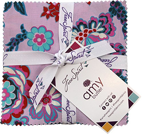 Amy Butler Quilt (Amy Butler Night Music Charm Pack 42 5-inch Squares Free Spirit)