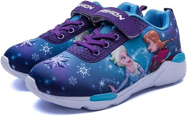 Amazon Com Rokids Fashion Kids Spiderman Sneakers Boys Cartoon Anime Frozen Shoes Girls Sneakers