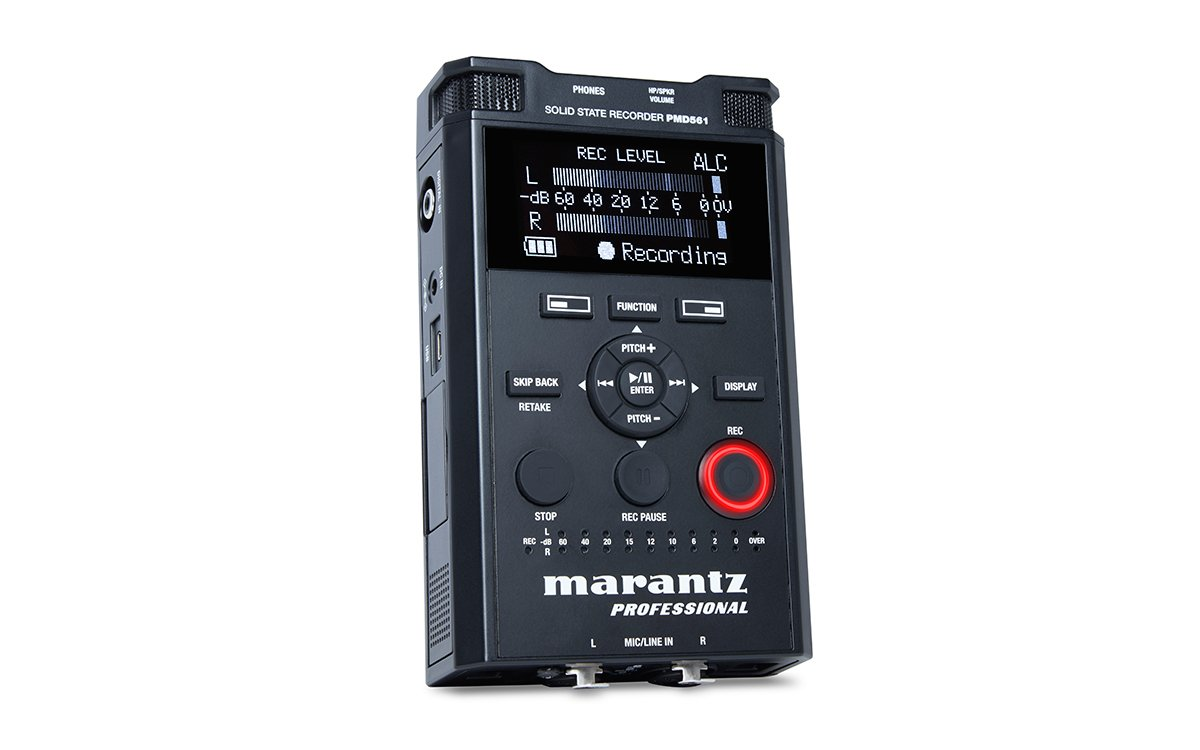 Marantz Professional PMD-561 Handheld Solid-State Recorder