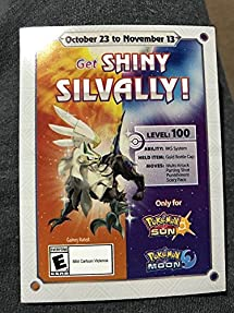 Shiny Silvally Gamestop Event Code Pokémon     - Amazon com