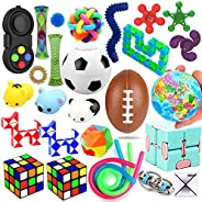 28 Pack Sensory Toys Set, Relieves Stress and Anxiety Fidget Toy for Children Adults, Special Toys Assortment