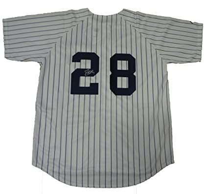 David Justice Autographed New York Yankees Pinstripe Jersey 6e23cb26c0a