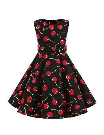 VKStar reg  Kleid, Kinder, Stil 50er Jahre Vintage, Stil Audrey Hepburn, af90b649ec