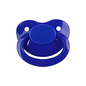TEN@NIGHT Adult Pacifier Size Silicone Dummy Pacifier for ABDL Cute