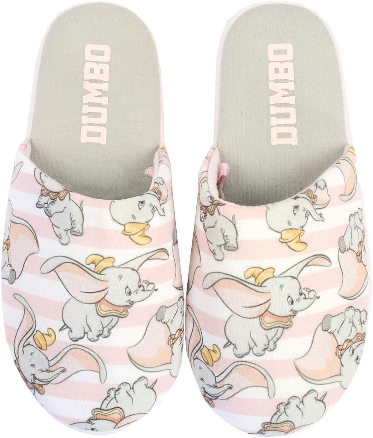 Disney Pink Slip-en la Ropa Dumbo de la Mujer Zapatillas de casa