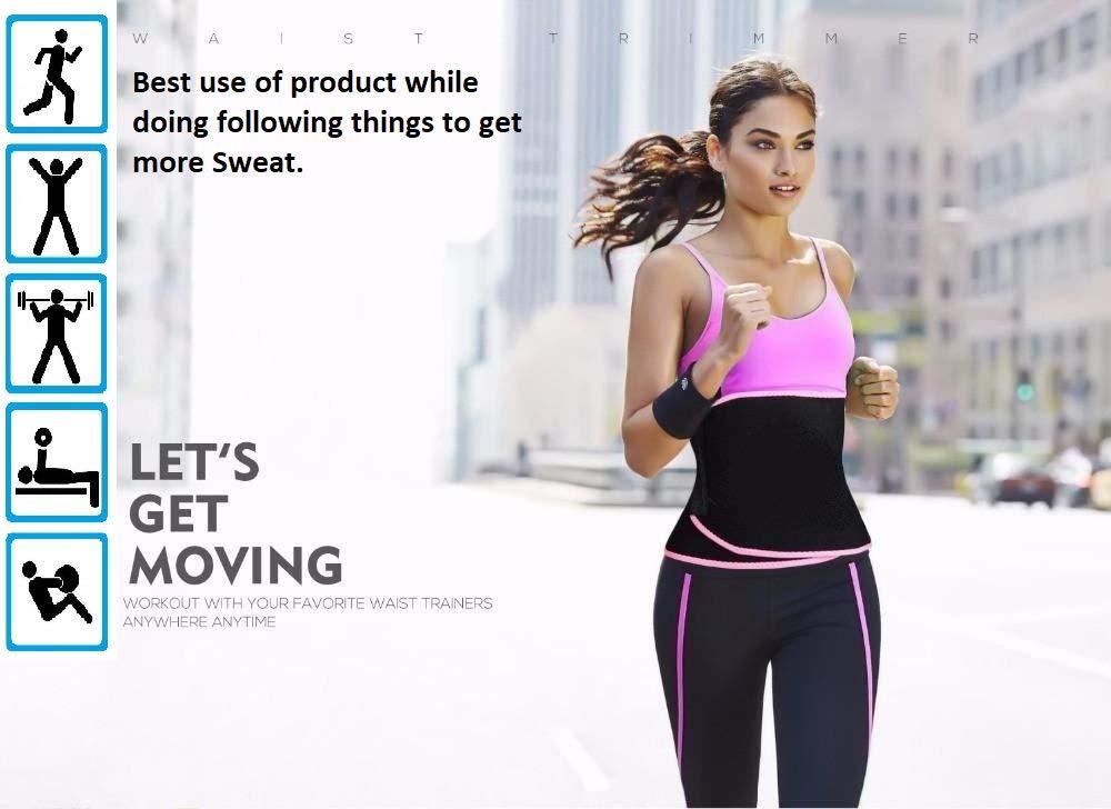 a2735569b74 Buy ADA Waist Trimmer Belt Slimming Neoprene Ab Belt Trainer for Faster  Weight Loss