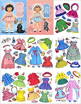 Lucy Locket & Kitty Fisher Restored 1949 Paper Doll