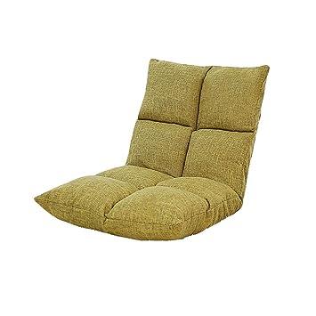 ZL-Sillón puff sofá Perezoso Dormitorio Individual Plegable ...