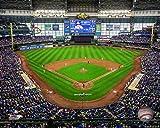 Miller Park Milwaukee Brewers MLB Stadium Photo (Size: 8' x 10')