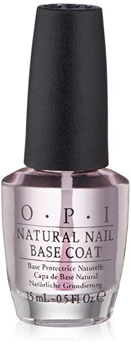 Amazon.com: OPI Nail Lacquer Base Coat, Natural Nail, 0.5 fl. oz ...