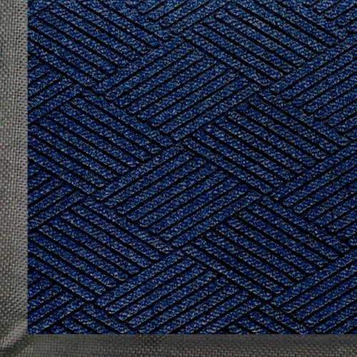 Entrance Matting - WaterHog Eco Premier | Commercial-Grade Entrance Mat with Diamond Pattern & Rubber Border | Indoor/Outdoor, Quick-Drying, Stain Resistant Door Mat (Indigo, 3x5)