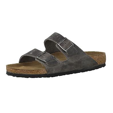 Birkenstock Arizona unisex erwachsene, glattleder, sandalen, 41 EU