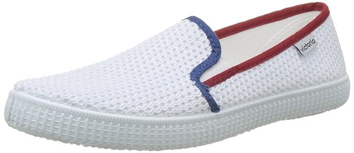 Slip On Rejilla/Tricolor, Zapatillas Unisex Adulto, Gris (Jeans), 36 EU Victoria