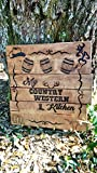 Custom Handmade Pallet Inspired Kitchen Utensil Wall Art - ''My Country Western Kitchen''