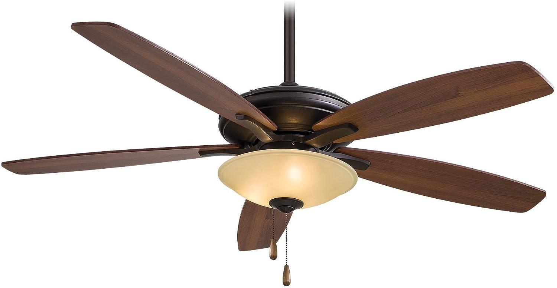 Minka-Aire F522-ORB/TS, Mojo,  52' Ceiling Fan with Light,  Oil-Rubbed Bronze