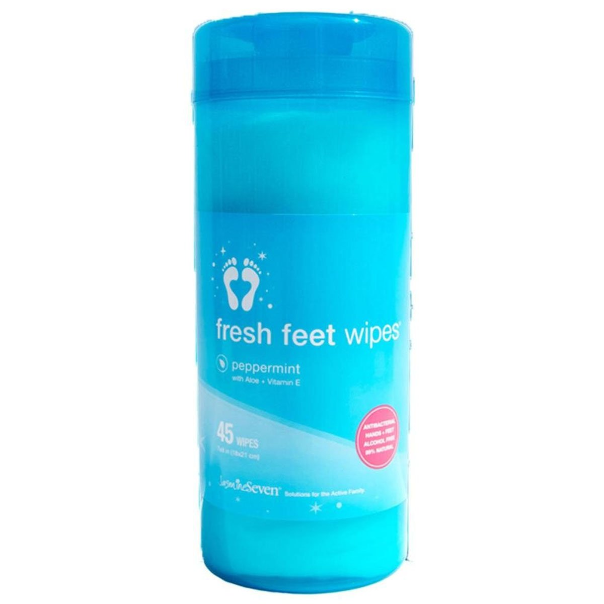Jasmine Seven Fresh Feet Wipes 45 Count