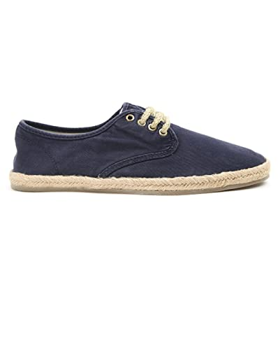 Ralph Lauren POLO Espadrilles - Men - Navy Blue Lace-up Espadrilles ... 94bed17e9d11