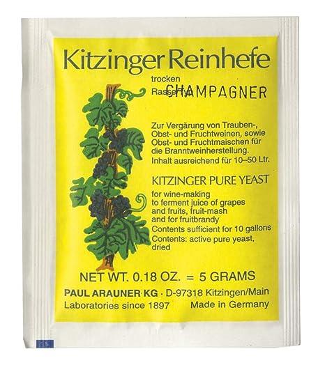 Champán levadura de vino KITZINGER - Levadura seca ...