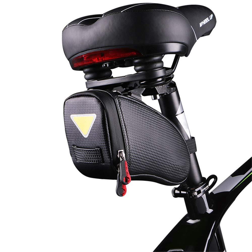 Cherlvy Bicycle Bag Tail Bag Waterproof Saddle Bag Mountain Bike Road Bike Rear Seat Bag Riding Equipment