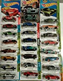 """Hot Wheels Muscle Car Madness 5 Pack Random Diecast Bundle Set! Corvettes, Mustangs, Camaros, Chargers, GTO""""s, Firebirds, Shelby, etc. (Treasure Hunts at random) Collectible Cars"""
