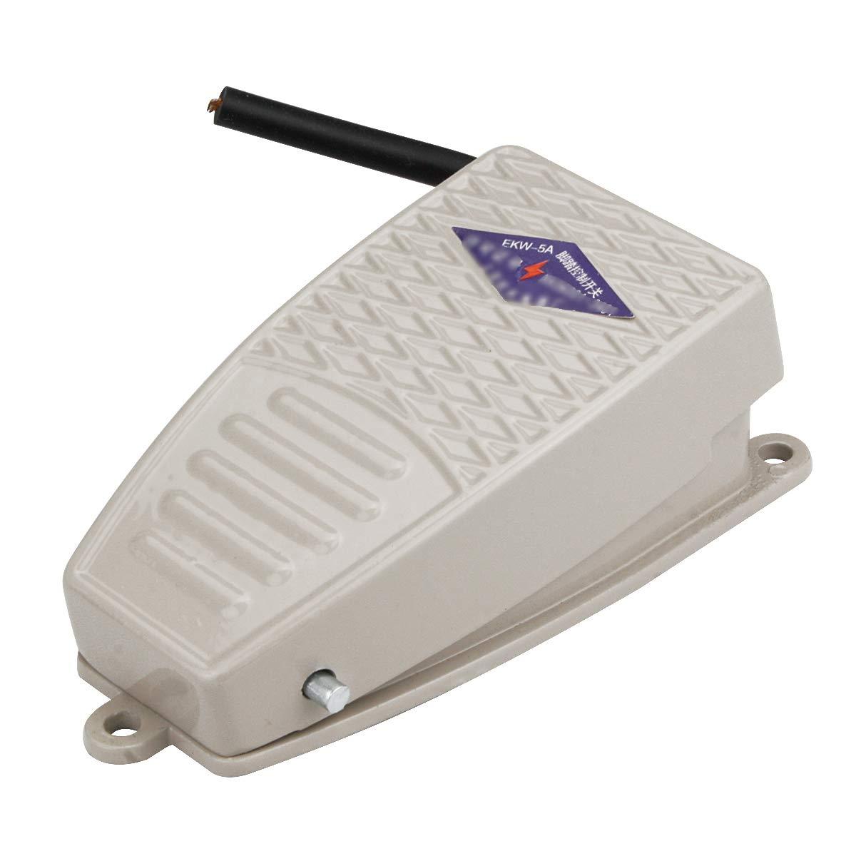 AC 380V DC 220V EKW-5A-B SPDT Momentary Control Foot Pedal Switch