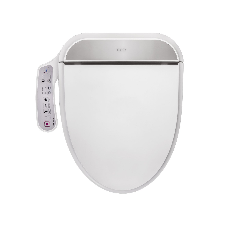 Flory UE Asiento de inodoro o bidé, eléctrico, digital, inteligente, FDB300,