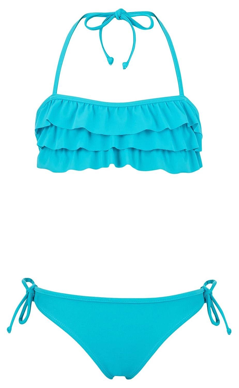 Bikini R/üschen-Bandeau Snapper Bikini Bambina