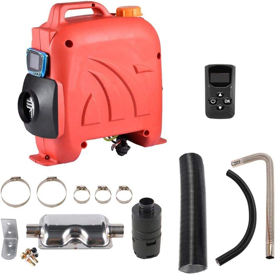 Wohnmobile 12V // 24V 5KW Diesel Standheizung Luftheizung Air Diesel mit Fernbedienung LCD Schalter F/ür RV Boote Wohnmobil Anh/änger LKW