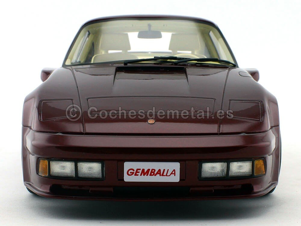 Amazon.com: Porsche 911 Turbo Gemballa Avalanche, metallic-dark red, 1986, Model Car, Ready-made, BoS-Models 1:18: BoS-Models: Toys & Games