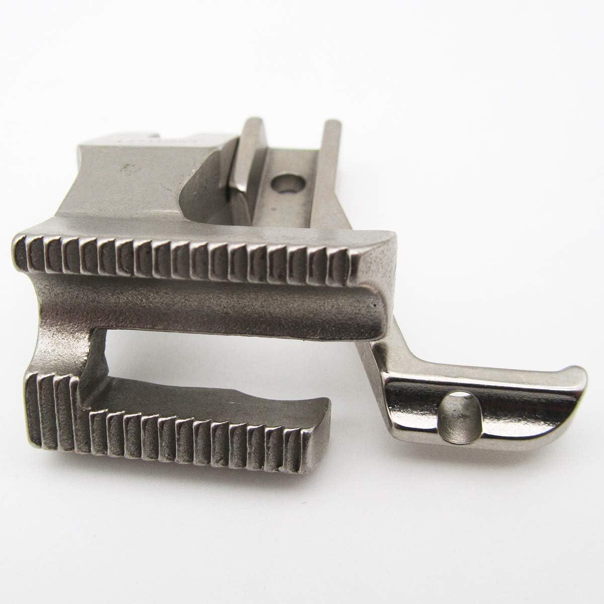 1//4 #U192+U193K 1SET Welting Foot Set fit for Juki DU-141 DU-1181 DU-1181N Chandler DY-337 Walking Foot Sewing Machine 6mm CKPSMS Brand