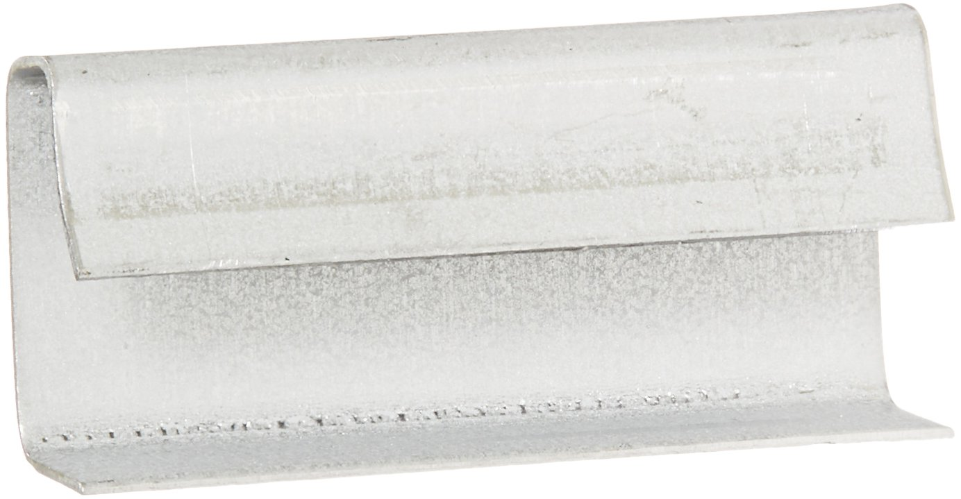 """Aviditi PS1210SEAL Metal Open/Snap Poly Strapping Seal, 1/2"""" Length (Case of 1000) hot sale"""