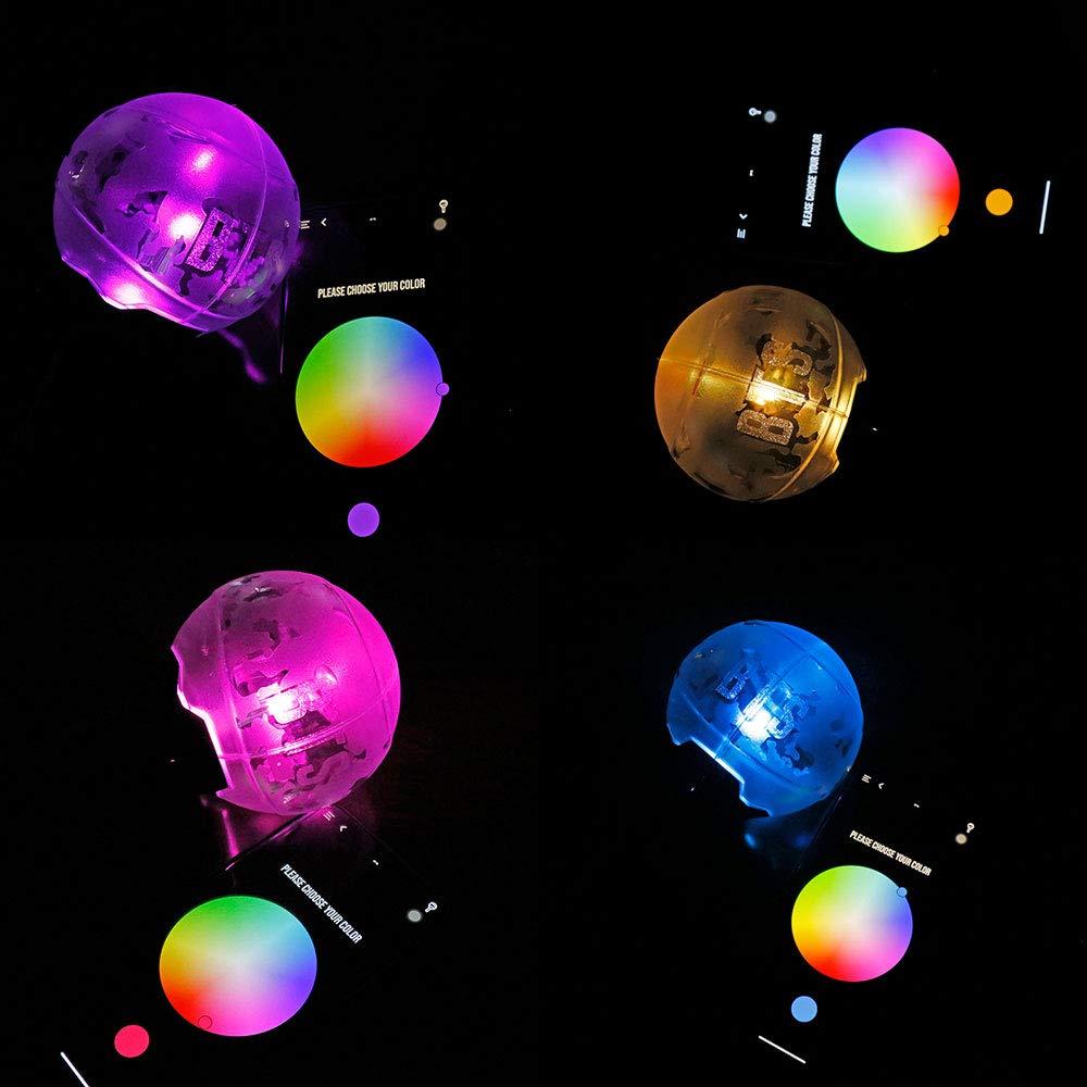 La Lumi/ère De Concert Et Les Acclamations BTS Merch Army Bomb Ver 3 Official Bluetooth,LAPP Ajuste La Couleur No
