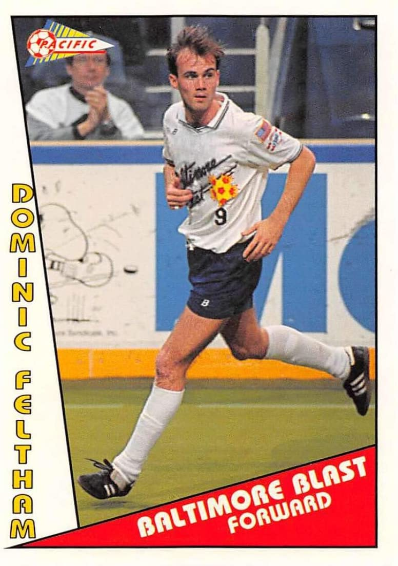 1991-92 Pacific MSL Soccer #73 Kenny Cooper Baltimore Blast Official Major Soccer League Trading Card