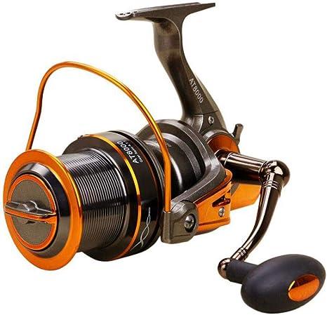 Carrete de pesca Spinning Wheel Bream Mar Rueda del ancla de pescado, pescado Línea de la