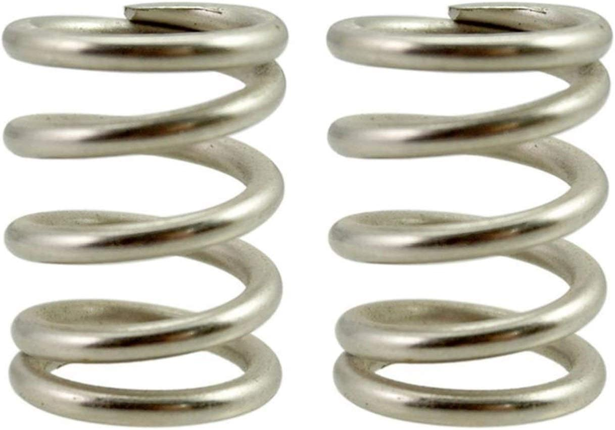 Xuulan Xianglaa-Flexible Springs 2pcs Silver Tremolo Vibrato Tension Springs, for Bass Bigsby Electric Guitar,Accessories Replacement,Wide Range of Applications